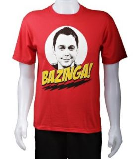 The Big Bang Theory   Bazinga Shirt, Small Clothing