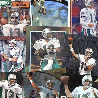 Various Brand Miami Dolphins Dan Marino 20 Trading Card Set Sports & Outdoors