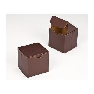 Dress My Cupcake Single Standard Chocolate Brown Cupcake Box and Holder (Without Window), Set of 100   Holder, Box, Carrier, Display Cupcake Wrappers Kitchen & Dining