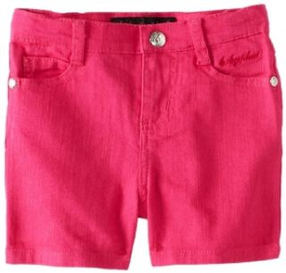 Baby Phat   Kids Girls 2 6X Twill Short, Fuschia, 2T Clothing