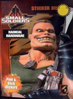 "SMALL SOLDIERS   ""Radical Hardware"" Sticker book Toys & Games"