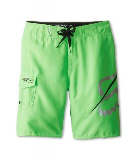 Fox Kids Overhead Boardshort Boys Swimwear (Green)