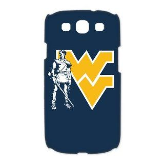 Stylish NCAA West Virginia Mountaineers Logo Cases Accessories for Samsung Galaxy S3 i9300 3D Designer Hard Case Cover Protector Cell Phones & Accessories
