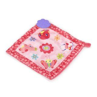 Bright Starts Teethe and Bloom Blankie. Pretty and Pink Baby Blanket Toys & Games