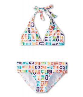 Roxy Kids Sundown Halter Set Girls Swimwear Sets (Multi)