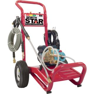 NorthStar Electric Cold Water Pressure Washer — 2000 PSI, 1.5 GPM, 120 Volt  Electric Cold Water Pressure Washers