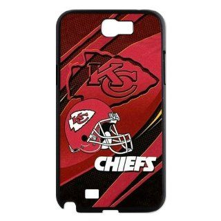 WY Supplier NFL Kansas City Chiefs Team Case Cover for Samsung Galaxy Note 2 N7100 Cases Kansas City Chiefs Team logo WY Supplier 150089 Cell Phones & Accessories