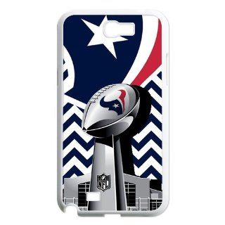 NFL Houston Texans Samsung Galaxy Note 2 N7100 Case Cover Chevron Pattern Houston Texans Galaxy Note 2 Cases Cell Phones & Accessories