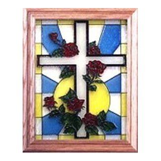 Hand Painted Easter Stained Glass Window Grocery & Gourmet Food