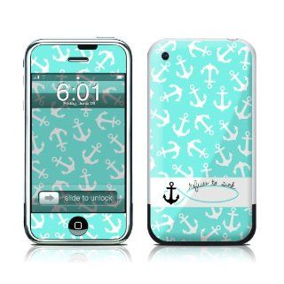 Refuse to Sink Design Protective Skin Decal Sticker for Apple iPhone (2G)1st Generation Electronics