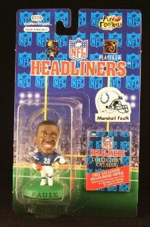 MARSHALL FAULK / INDIANAPOLIS COLTS * 3 INCH * 1996 NFL Headliners Football Collector Figure Toys & Games