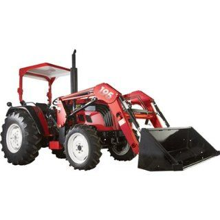 NorTrac 50XT 50 HP 4WD Tractor with Front End Loader   with Turf Tires [Misc.]