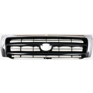KEYSTONE 5310004100   TOYOTA TACOMA PICKUP 2WD 4WD REPLACEMENT FRONT GRILLE CHROME TO1200213 Automotive