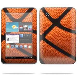 "Protective Vinyl Skin Decal Cover for Samsung Galaxy Tab 2 II 7"" 7 inch screen tablet stickers skins Basketball Computers & Accessories"