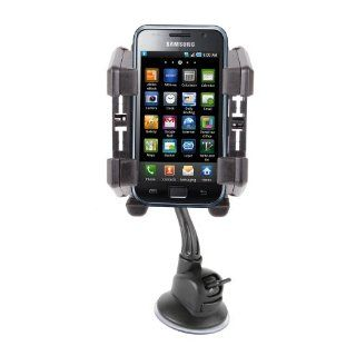 Sturdy Car Phone Holder & Mount For Samsung Galaxy S IV / S4 i9500, S II / S2, Galaxy S III / S3, S3 Mini, Nexus & Note Cell Phones & Accessories