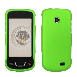 Cool Green Rubberized Protector Case for Samsung T528g Cell Phones & Accessories