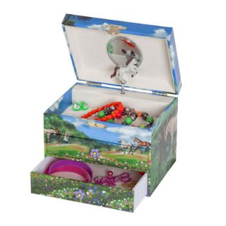 Mele & Co. Annie Girls Musical Horse Jewelry Box