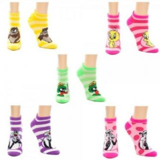 Looney Tunes 5 Pair Pre Pack Ankle Socks Movie And Tv Fan Apparel Accessories Clothing