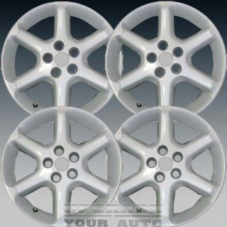 2002 2003 Nissan Maxima 17X7 Factory Replacement Bright Silver Alloy Wheel Set of 4 Automotive