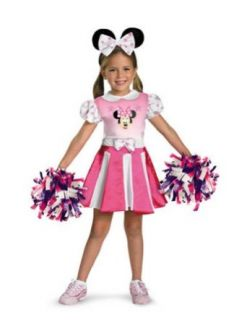 baby girls   Minnie Mouse Cheerleader Toddler Costume 3T 4T Clothing