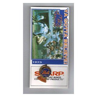 NEW YORK METS 1973 WORLD SERIES REPLICA PRESS PIN at 's Sports Collectibles Store