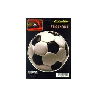 Soccer Ball Stick Onz Decal Automotive