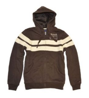 Tommy Hilfiger Men Fashion Fur Logo Hoodie Jacket (XS, Brown/beige) at  Men�s Clothing store