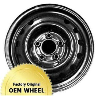 KIA FORTE 15x5.5 13 HOLE Factory Oem Wheel Rim  STEEL BLACK   Remanufactured Automotive