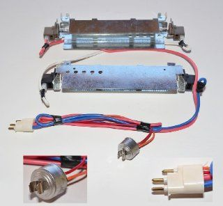 WR51X442 OR WR51X0442 NEW GENUINE REPLACEMENT REFRIGERATOR DEFROST HEATER KIT FOR GE HOTPOINT RCA REPLACES PART NUMBERS WR51X342, WR51X371 Electronics