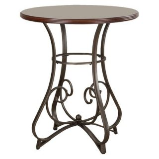 Powell Hamilton Pub Dining Table   Brown