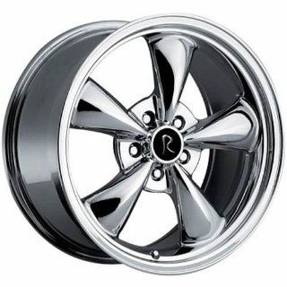 Rev Replicas Bullet 17 Chrome Wheel / Rim 5x4.5 with a 24mm Offset and a Hub Bore. Partnumber 180C 7912 Automotive