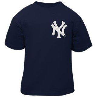 MLB Infant/Toddler Boys' New York Yankees Derek Jeter Pullover Tee with Name & Number (Navy, 2T)  Apparel  Sports & Outdoors
