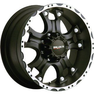 Ballistic Hostel 17x9 Black Wheel / Rim 6x135 with a 12mm Offset and a 87.00 Hub Bore. Partnumber 811790653+12FBOM Automotive