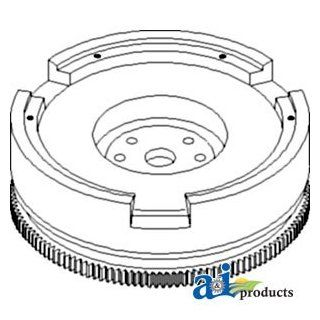 A & I Products Flywheel with Ring Gear Replacement for John Deere Part Number