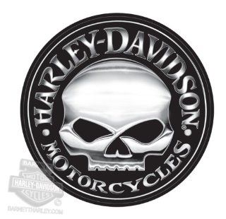 Harley Davidson Willie G Skull Extra Large Vinyl Trailer Decal Automotive