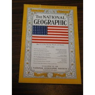 The National Geographic Magazine, July 1942 (Volume LXXXII (82) Number One (1)) Books