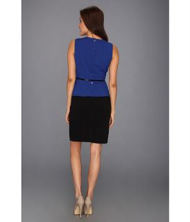 calvin klein sleeveless belted peplum dress, Clothing, Women at