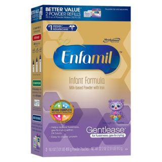 Enfamil Gentlease Infant Formula Powder Refill B