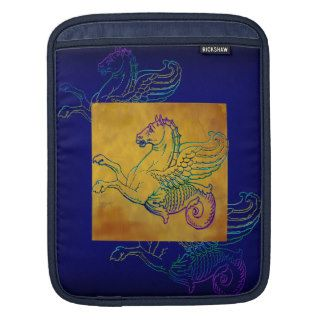 Mythical Hippocamp Sea Horse iPad laptop Sleeve Sleeve For iPads