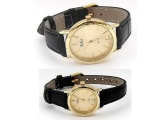 Reflex   His And Hers Classic Gold Matching Gift Set Watches (1064) at  Men's Watch store.