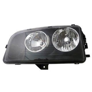 2007 2008 2009 2010 Dodge Charger (from 11 8 06 vehicle manufacture date) Headlight Headlamp Composite Halogen Front Head Light Lamp (with Black Housing, Non HID Type) Left Driver Side (07 08 09 10) Automotive