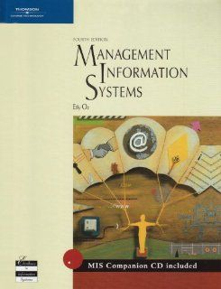 Management Information Systems Effy Oz 9780619213220 Books