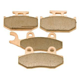1990 Yamaha Yz 250 WRA Front & Rear Brake Pads Sintered Severe Duty Automotive