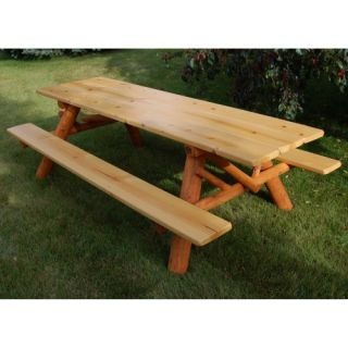 Moon Valley Cedar Works 8 ft. Picnic Table Kit Patio Furniture