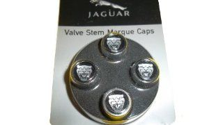 "Jaguar OEM Accessory ""Growler"" Valve Stem Caps Automotive"