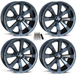 "MSA M22 Enduro ATV Wheel/Rims Dark Tint 16"" Polaris RZR 1000 XP / Ranger 900 XP (4) Automotive"