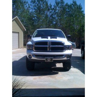 Dodge Ram Pickup With Xenon Bulbs Black Housing Headlights Headlamps Driver/P Automotive