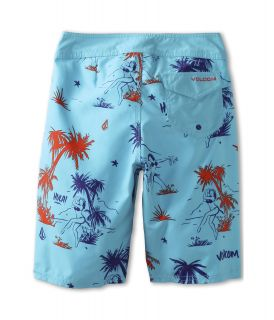 Volcom Kids 45th St Boardshort Big Kids Blue Drift