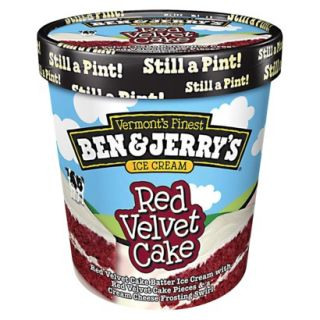 Ben & Jerrys® Red Velvet Cake Ice Cream 16 oz