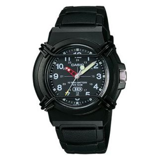 Casio Mens Analog Sport Watch   Black   HDA600B